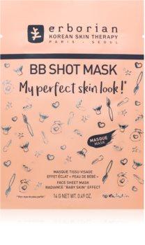 Erborian BB Shot Mask платнена маска с озаряващ ефект