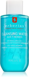 Erborian 7 Herbs Cleansing Water micelární čisticí voda 3 v 1