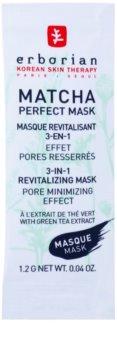 Erborian Detox Matcha Perfect Mask mascarilla revitalizante para suavizar los poros 3 en 1
