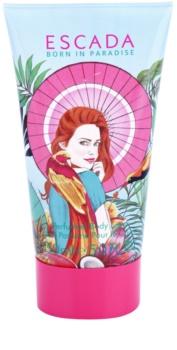 Escada Born in Paradise leche corporal para mujer 150 ml