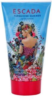 Escada Turquoise Summer leite corporal para mulheres 150 ml