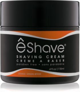 eShave Orange Sandalwood cremă pentru bărbierit
