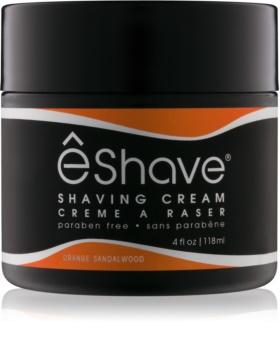 eShave Orange Sandalwood крем для гоління