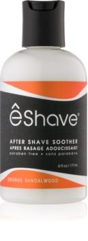 eShave Orange Sandalwood balsam calmant after shave