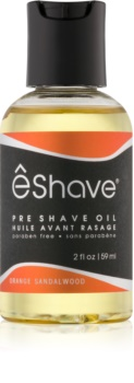 eShave Orange Sandalwood Öl vor der Rasur
