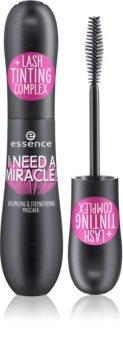 Essence I NEED A MIRACLE! mascara fortifiant pour des cils volumisés et séparés