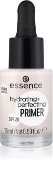 Essence Hydrating + Perfecting feuchtigkeitsspendender Primer unter dem Make-up