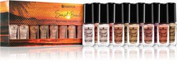 Essence Sunset Beach kosmetická sada 01 beyond the horizon (na nehty) odstín