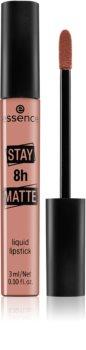 Essence Stay 8h Matte Ruj de buze lichid, de lunga durata