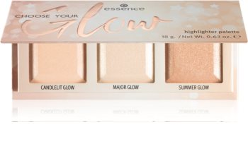 Essence Choose Your Glow highlight paletta