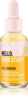 Essence Hello, Good Stuff! Pineapple Extract rozjaśniające serum nawilżające
