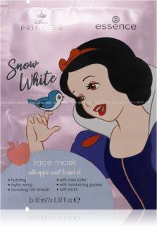 Essence Disney Princess Snow White pleťová maska s hydratačním účinkem