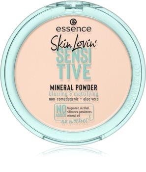 Essence Skin Lovin' Sensitive minerální pudr