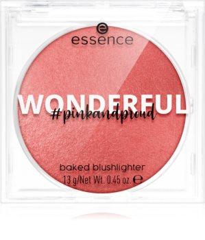 Essence Pink and Proud Wonderful pudrowy róż