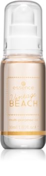 Essence Vintage Beach многофункциональное масло для лица и тела