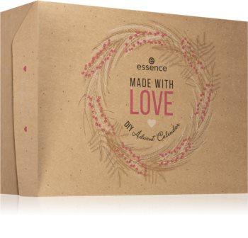 Essence Made With Love DIY adventní kalendář (pro perfektní vzhled)