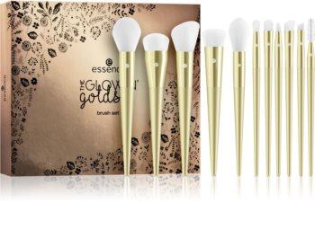 Essence The Glowing Golds kit de pinceaux