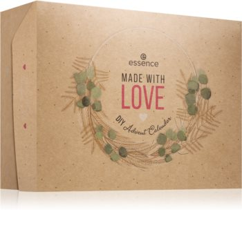 Essence Made With Love DIY Χριστουγεννιάτικο ημερολόγιο