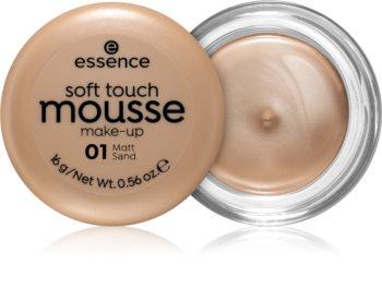 Essence Soft Touch Matte Mousse makeup