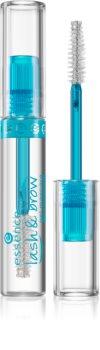 Essence Lash & Brow Gel-Mascara für Wimpern und Augenbrauen