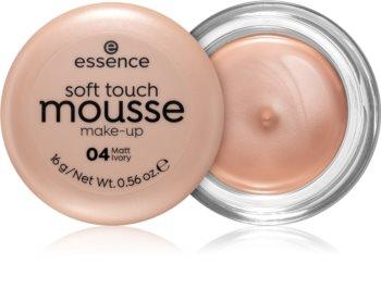 Essence Soft Touch mattító hab állagú make-up
