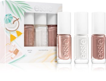 Essie  Mini Triopack To the beach, please! vernis à ongles 3 pcs