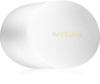 Estée Lauder White Linen testpúder csillámporral
