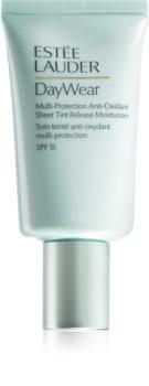 Estée Lauder Multi-Protection Anti-Oxidant Sheer Tint Release Moisturizer crema hidratante con color para todo tipo de pieles