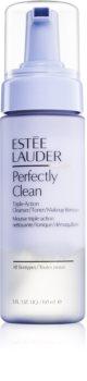 Estée Lauder Perfectly Clean Triple-Action Cleanser/Toner/Makeup Remover почистващ лосион, тоник за почистване на грим 3 в 1