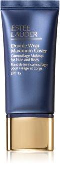 Estée Lauder Double Wear Maximum Cover Camouflage Makeup for Face and Body SPF 15 base de maquillaje cubre imperfecciones para rostro y cuerpo