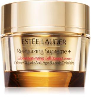 Estée Lauder Revitalizing Supreme + Global Anti-Aging Cell Power Creme crema antiarrugas multifuncional con extracto de moringa