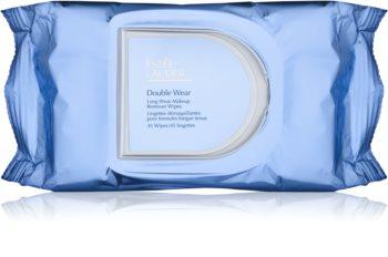 Estée Lauder Double Wear odličovací ubrousky k odstranění odolného a voděodolného make-upu