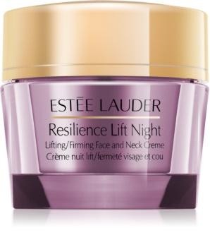 Estée Lauder Resilience Lift Night crema de noapte cu efect lifting  pentru față și gât