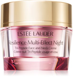 Estée Lauder Resilience Multi-Effect Night Tri-Peptide Face and Neck Creme Lifting Night Cream for Face and Neck
