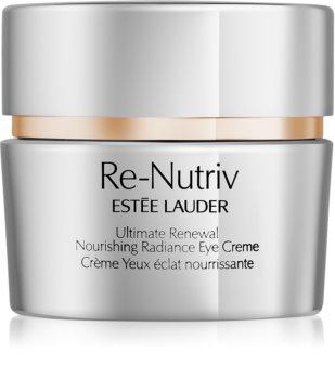 Estée Lauder Re-Nutriv Ultimate Renewal crème illuminatrice yeux  effet nourrissant