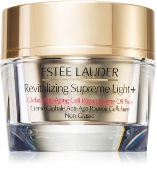 Estée Lauder Revitalizing Supreme Light + Global Anti-Aging Cell Power Creme Oil-Free crème multifonctionnelle anti-rides à l'extrait de moringa sans huile