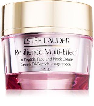 Estée Lauder Resilience Multi-Effect Tri-Peptice Face and Neck Creme SPF 15 krem intensywnie odżywiający do cery normalnej i mieszanej