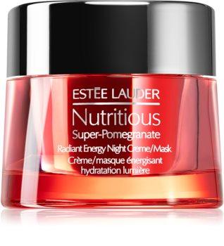 Estée Lauder Nutritious Super-Pomegranate krem-maska na noc odżywienie i nawilżenie