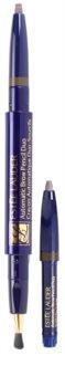 Estée Lauder Automatic Brow Pencil Duo lápiz para cejas con brocha y un recambio