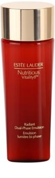 Estée Lauder Nutritious Vitality 8™ dwufzowa rozjaśniająca emulsja