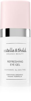 Estelle & Thild BioHydrate зволожуючий гель для шкіри навколо очей проти набряків та темних кіл