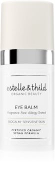 Estelle & Thild BioCalm szemkörnyékápoló balzsam az érzékeny arcbőrre