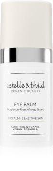 Estelle & Thild BioCalm балсам за околоочния контур за чувствителна кожа на лицето