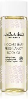 Estelle & Thild BioCare Baby masážny olej pre tehotné ženy k prevencii strií