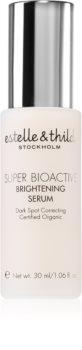 Estelle & Thild Super BioActive ser facial cu efect iluminator impotriva petelor intunecate