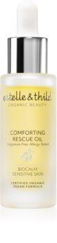 Estelle & Thild BioCalm хидратиращо и успокояващо масло за чувствителна кожа на лицето