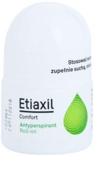 Etiaxil Comfort antitranspirante Roll-On com efeito durante 3-5 dias