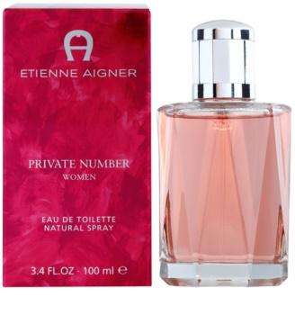 Etienne Aigner Private Number Eau de Toilette for Women