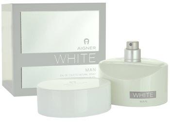 Etienne Aigner White Man eau de toilette pentru bărbați