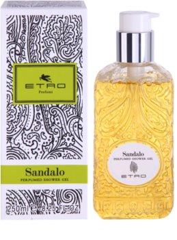 Etro Sandalo gel de duche unissexo 250 ml